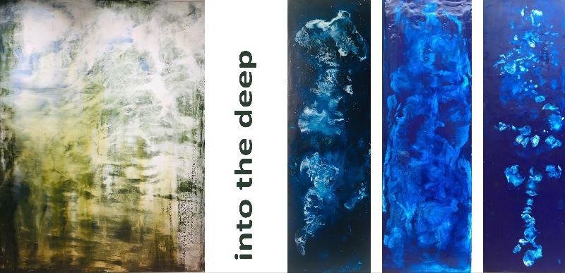 "#Vernissage et exposition ""into the deep"""